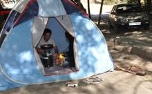 ایمنی در چادرهای  مسافرتی