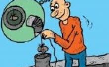 قبل از نصب وسایل گرمایشی،خروجی دودکش را کنترل و نسبت به باز بودن آن مطمئن شوید.
